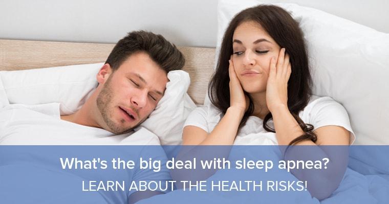 Sleep apnea is a big deal
